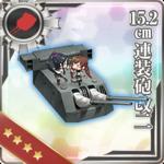 15.2cm连装炮改二