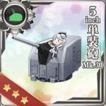 5inch单装炮 Mk.30