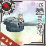 16inch MK.I 三连装炮
