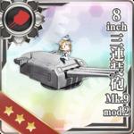 8inch三连装炮 Mk.9 mod.2