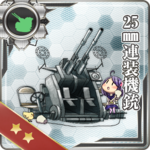 25mm连装机枪