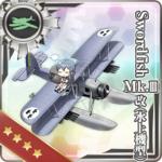 剑鱼(Swordfish)Mk.III改(水上机型)
