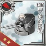 305mm/46 连装炮
