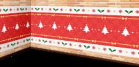 砖制圣诞墙壁