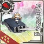 16inch三连装炮 Mk.7