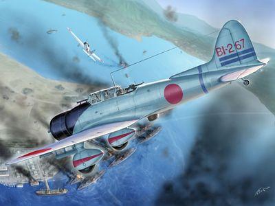 九九式舰上轰炸机在珍珠港
