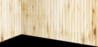 高级木材做成的墙壁