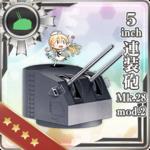 5inch连装炮 Mk.28 mod.2